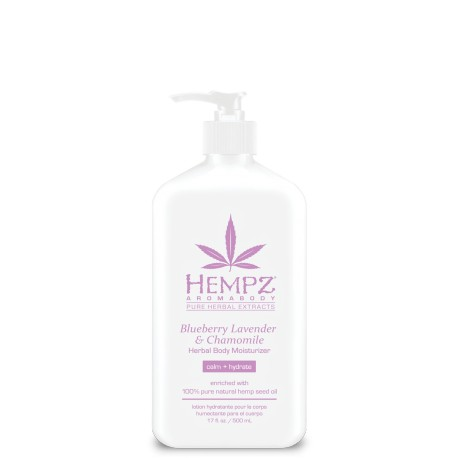 Blueberry Lavender & Chamomile Herbal Body Moisturizer