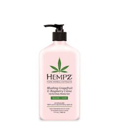Blushing Grapefruit & Raspberry Crème Herbal Body Moisturizer